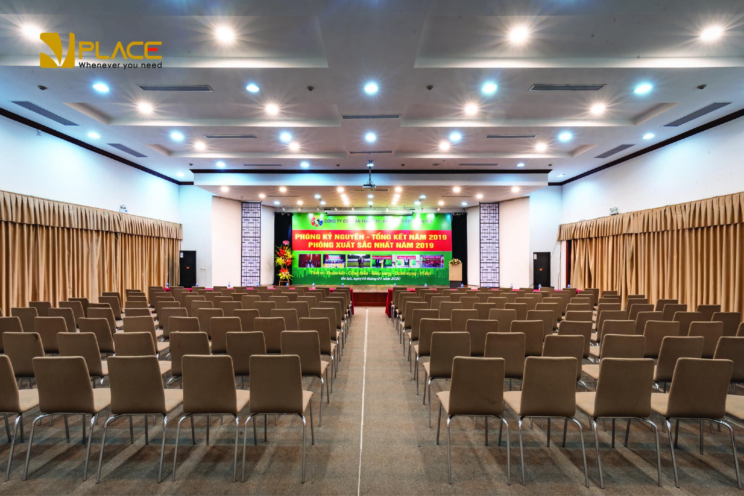 thiết kế phòng hội thảo