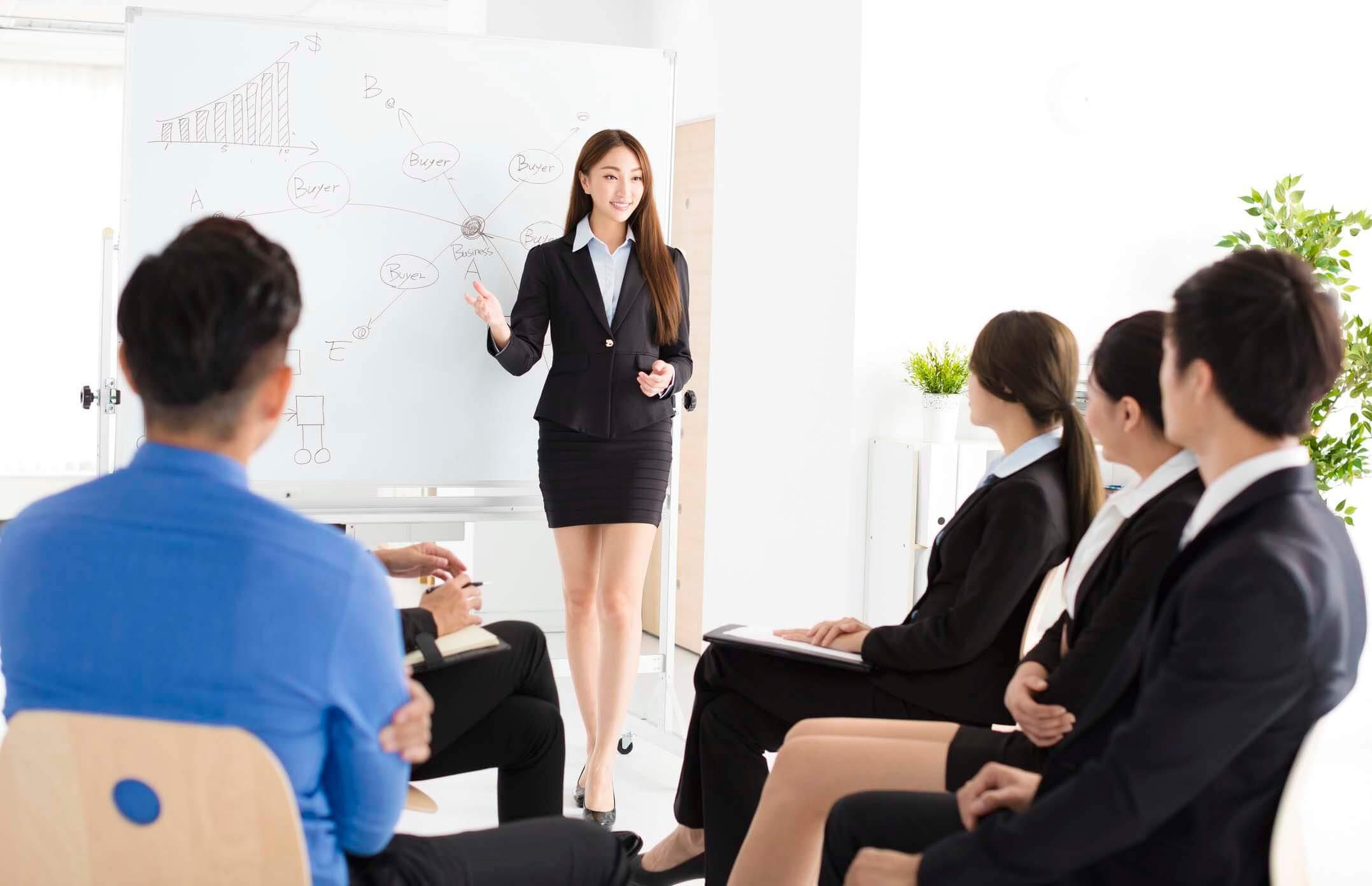 quy tắc thuyết trình trước đám đông